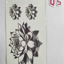 Buy water lily tattoo and get free shipping on AliExpress.com