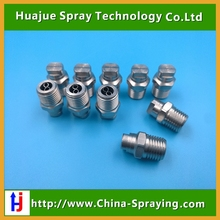 MEG high pressure truck sweeper nozzle,road roller water spray nozzle,flat fan nozzle,washing veejet nozzle