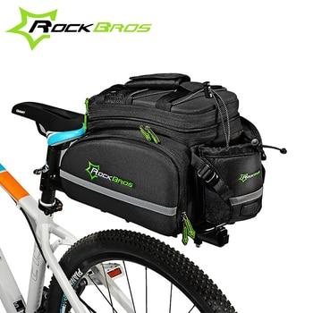 ROCKBROS Vélo sac Sports De Plein Air De Vélo Sac Multifonctionnel Vélo Cadre Rack Pack Grande Capacité Voyage Sac