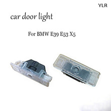 2X No Drilling LED Ghost Shadow Projector Laser Courtesy Logo Light For E53 X5 BMW E39