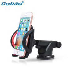 2017 COBAO New Auto Windshield Universal Car CELLPHONE Holder ^ China Desk mount Stand & Sucker supports for your mobile phones