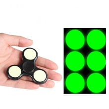 Buy Hand Spinner Luminous Powerful Patches Gyro Toy Accessories Soft Green Light DIY Fidget Spinner Finger Stress Relief Focus Toys for $1.24 in AliExpress store