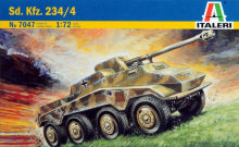 Out of print! Italeri Model kit #7047 1/72 WWII Germany Sdkfz.234/4