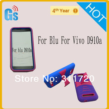 Hybrid Rubber Hard Case Cover For Blu for  Vivo 4.3  D910a  Free Shipping