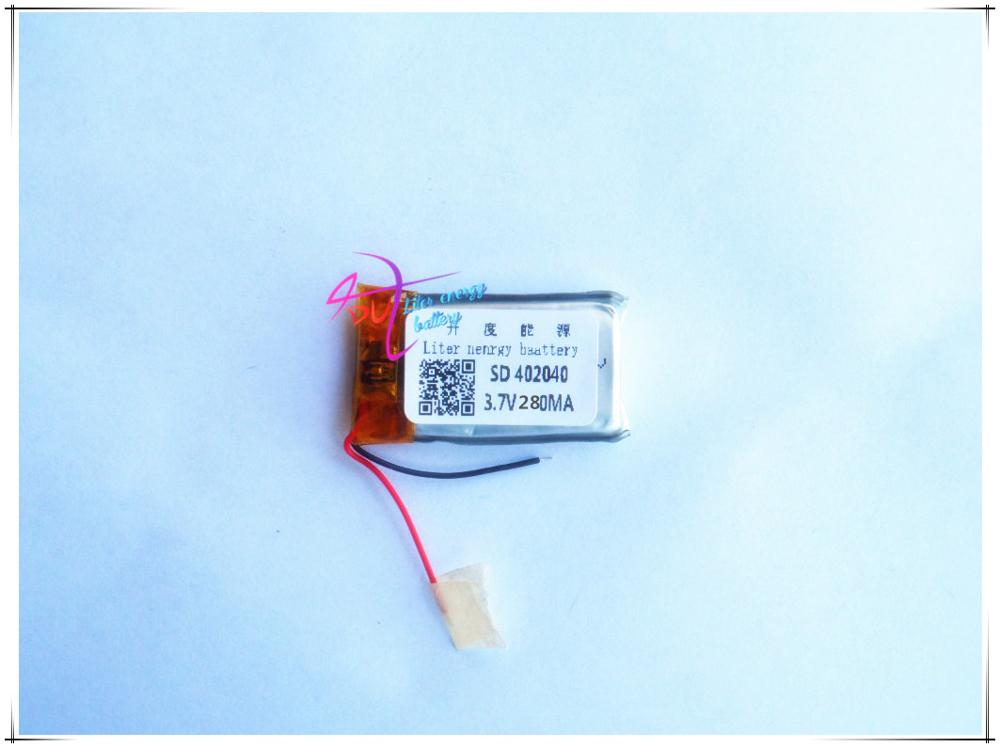 MP4 Bluetooth Universal 3.7V lithium polymer battery 402040 280mah quality genuine quality assurance<br><br>Aliexpress