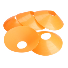 New Sports Outdoor 5pcs 18cm Cones Marker Discs Soccer Football Training Sports Saucer 4 Colors Wholesale