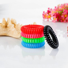 10Pcs Mosquito Repellent Bracelet Natural Plant Oils Pest Control 360 hours Summer Anti Mosquito Individually packaged(China)