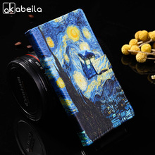 AKABEILA DIY Painted PU Leather Cases For Huawei P9 Lite P9 Mini G9 G9 Lite VNS-L21 VNS-L22 VNS-L23 VNS-L31 VNS-L53 Bags Covers(China)