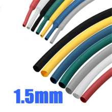 New Arrvial 1/16 1mm 1m 7Color Polyolefin 2:1 Heat Shrink Wire Wrap Cable Sleeve Tubes Power Tool Accessories