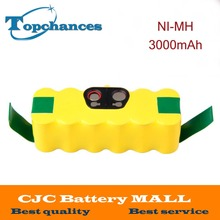 14.4V 3000mAh Ni-MH Battery for iRobot Roomba Vacuum Cleaner for 500 560 530 510 562 550 570 581 610 650 790 780 532 760 770(China)