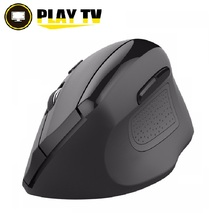 Original Rii RM300 Optical Wireless Mouse Ergonomic Mouse 6 Buttons With DPI Switch Vertical Mouse For Computer PC Laptop(China)