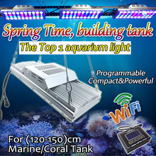 Dimmable reef coral light Full Spectrum Lamp led aquarium wifi lighting timer marine aquarios controller corais sunrise sunset(China)