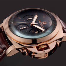 Buy MEGIR Top Luxury Brand Men's Wrist Watch Mens Chronograph Luminous Clocks Men Male Gift Quartz Watches Military Army Sport Clock for $25.90 in AliExpress store