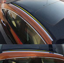 FIT FOR 2016 2017 HONDA CIVIC CHROME ROOF WINDOW DOOR GATE PILLAR TRIM STYLING LINGING COVER LID BEZEL MOLDING GARNISH STAINLESS