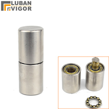 High quality,Stainless steel 304,Cylindrical bearing hinges/shaft,Detachable,for outdoor Metal door ,strong,industrial hinge