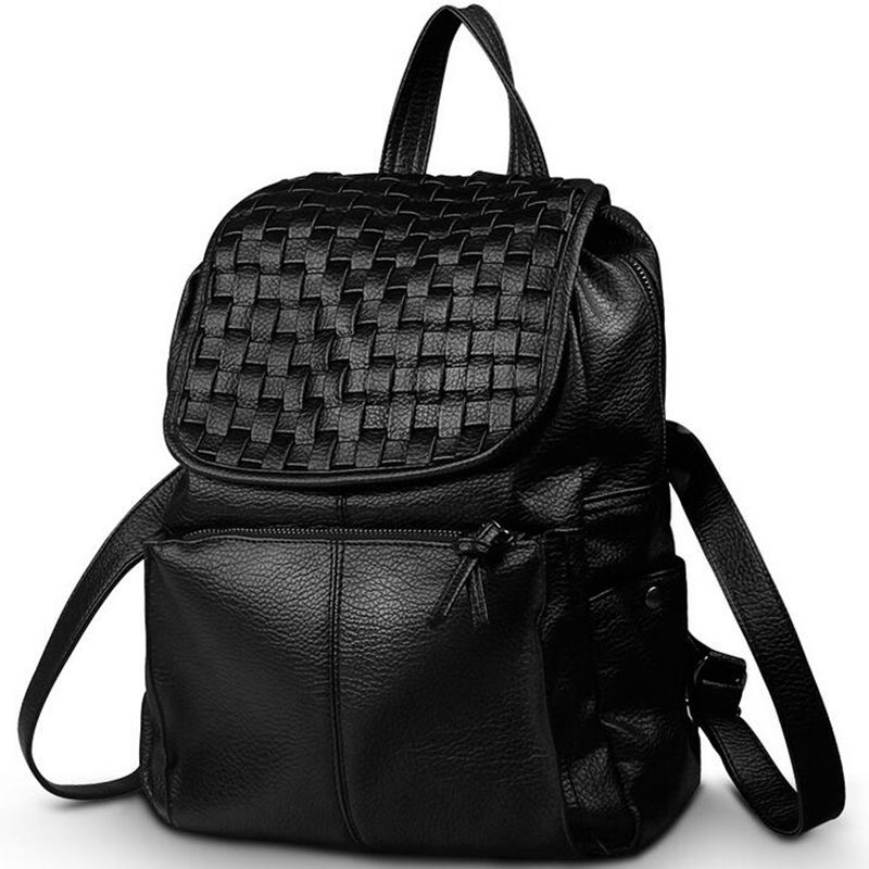 Women Backpack High Quality PU Leather Mochila School Bags For Teenagers Girls Top-handle Backpacks Fashion S-192<br><br>Aliexpress