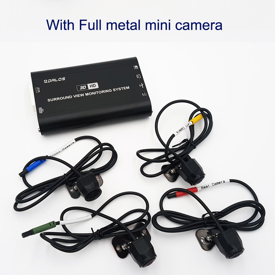 Full metal mini camera