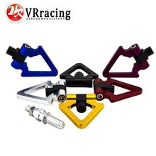 VR RACING- Billet Aluminum Tow Hook Front Rear Alu CNC Triangle Ring Tow Towing Hook For BMW European Car VR009
