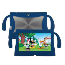 7 Inch Soft Silicone Gel Cover Case For Q88 Android Kids Children Tablet PC A13 Blue(China)