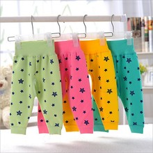 baby clothes baby boys pants winter woolen cotton warm Pants baby girls stars Pattern Open crotch pants
