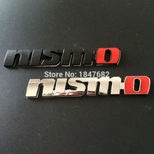 High quality 10pcs metal chrome 3D NISMO sticker NISMO Badge Emblem Decal Sticker Grille Emblem For Nissan Tiida Teana