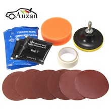 Headlight Restoration Polishing Tools Kit Car Head Light Motor Cleaner Renew Lens Polish Kit(China)