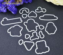 Penguins / sleds Metal Cutting Dies Stencils for DIY Scrapbooking
