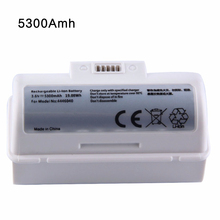 New 3.6V 5300mAh Li-Ion Replacement Battery for iRobot Braava Jet 240 241 244 battery 4446040 floor mopping Robots BC674