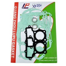 Motorcycle XV250 full include Engine Crankcase Covers Cylinder Gaskets for Yamaha 250cc XV 250 Paper Iron