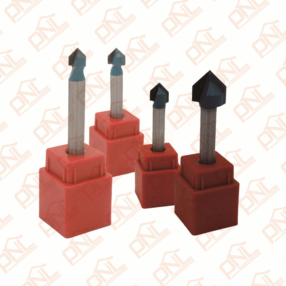 Pack of 4 (6/810/12mm) Diameter 90-Degree V-Grooving Router Bit with 1/4-Inch Shank<br><br>Aliexpress