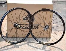 Lightweight 100/135mm 8-10s EIOSIX folding bike 20inch wheels disc brake wheelset BMX parts