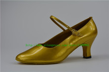 Manufacturers selling golden female M10 shoes can be customized square dance Latin dance shoes dancing shoes(China)
