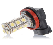 White H11 H8 18 LED 5050 SMD Car Auto Day Driving Fog Lights Headlighit Lamp Bulb DC12V One Piece Best Price