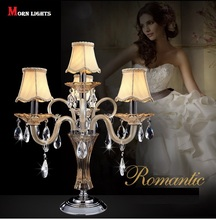 Fashion crystal table light crystal table lamp bedside crystal Modern table lamp luxury lamp Top K9 Crystal Bed Room Lamp(China)
