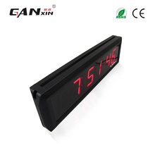 [Ganxin]New Design 1.8 Inches Wall Mounted Led Light Digital Clock For Sale