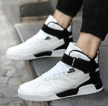 New 2017 Fashion Casual Men Shoes High Tops Men Comfortable Walking Shoes Men Breathable Outdoor Shoes for Man Trainers