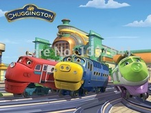 Free shipping,Best Quality, 5 pcs/lot mix order,Chuggington train toy small alloy toy Metal Train(China)
