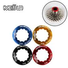 MEIJUN 4 kinds of color ultra light aluminum alloy mountain bike road car flywheel lock cover lock ring lock cover