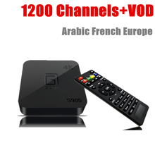 GOTiT S905X+Europe IPTV Canal+ Ski Beln M6 W9 C8 SFR OCS Box Office VOD 1200 Channels Quad Core Smart TV 1G/8G  Android TV Box