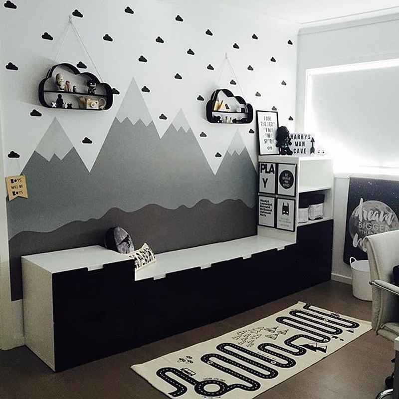 HTB1HaVHRpXXXXXdXVXXq6xXFXXXv - Little Cloud Wall sticker For Kids room