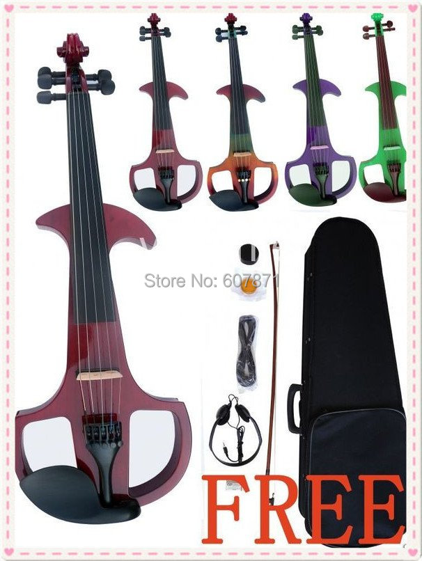 black  color 4/4 High quality 5 Strings Electric violin 1#<br><br>Aliexpress