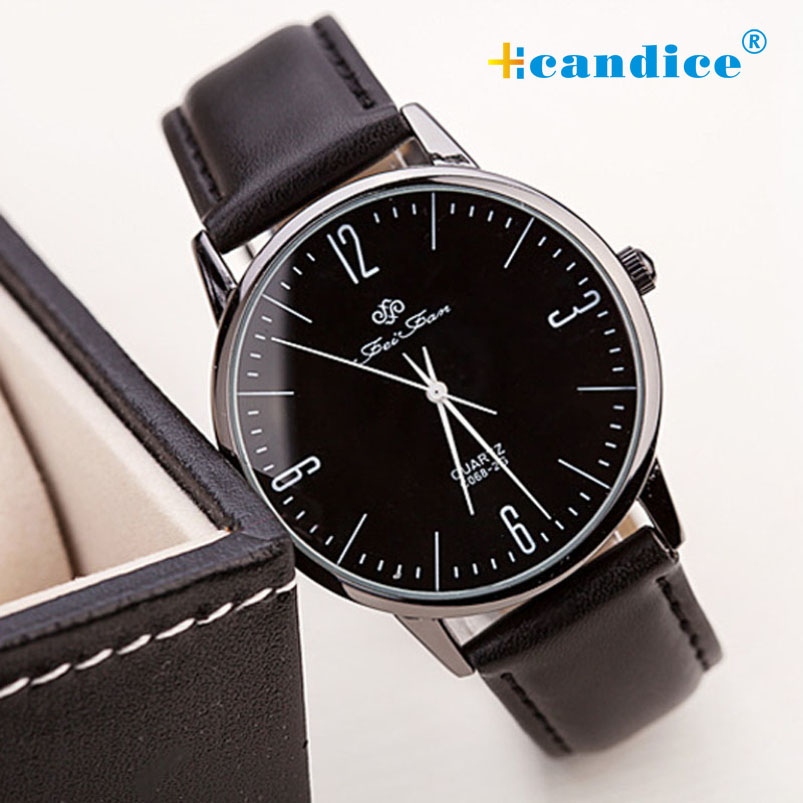 Splendid Fashion buckle New with tags Ultra-thin Brown Man Women Casual Wrist Watch Leather Quartz Lot Watch For Lovers Watch<br><br>Aliexpress