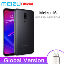 Официальная глобальная версия Meizu 16 6 GB 64 GB Snapdragon 710 Octa Core 6-inch 2160x1080 P Front 20MP 3100 mAh In-screen Fingerprint(China)