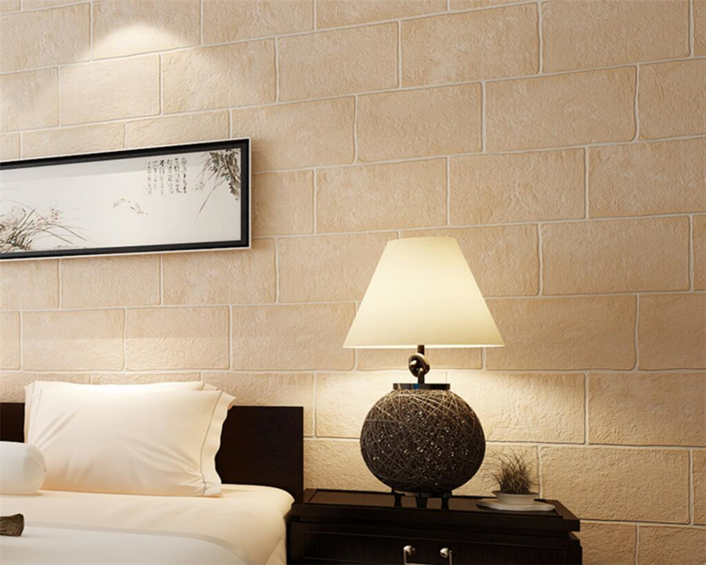 Beibehang Thick Brick 3D Wallpaper roll Living Room Bedroom Walkway Background wallpaper for walls 3 d wall paper home decor <br>