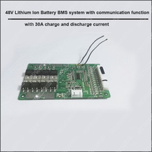 48V Smart bluetooth BMS system with 30A  discharge current for 54.6V Battery system  E-Bike li-ion Battery  software PCB  Board
