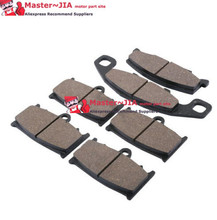 JIA Motor - Rear & Front Semi Brake Disc Pads Set For KAWASAKI ZZR 400 1990 1991 1992 New
