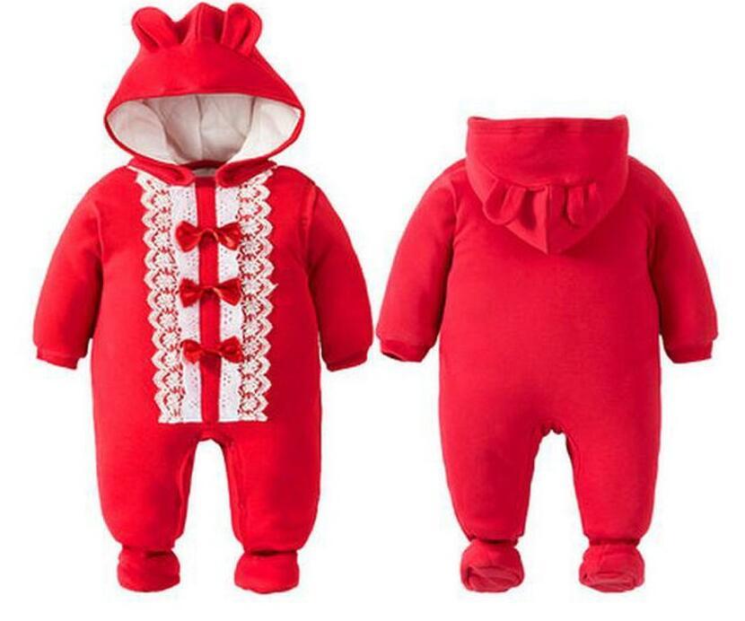 Baby christmas costumes newborn snowsuit navidad santa hooded romper flowers deer kawaii jumpsuits baby sleepwear KD068<br><br>Aliexpress