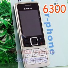 Original Nokia 6300 Mobile Phone Unlocked Bluetooth Camera & English Arabic Russian keyboard(China)