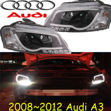 A3 headlight,2008~2012,Fit LHD,Free ship! A3 fog light,A4,A5,A8,Allroad,Quattro,Q3,Q5,Q7,S3 S4 S5 S6 S7 S8(China)