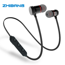 2017 ZHIBANG GZ05 Wireless headphones Bluetooth earphone for sport Earbuds with microphone headset stereo headphone(China)